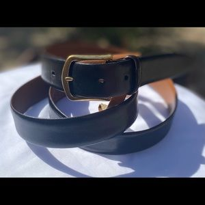 VTG Men's Wearhouse 🇮🇹 Made Leather Belts Sz 44